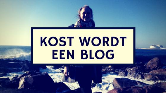 KOST wordt een blog