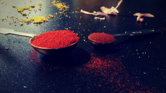 gerookt paprika poeder en chipotle
