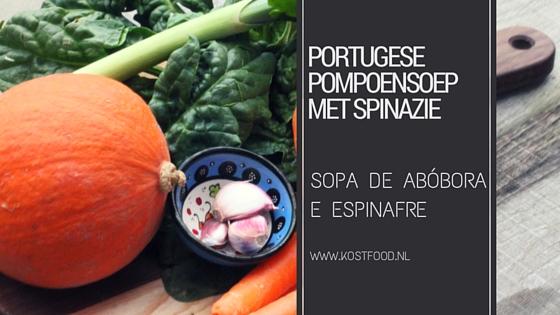 pompoensoep-spinazie recept